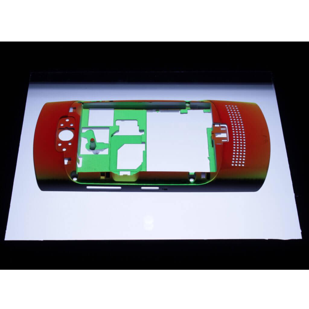 3D measurement of phone