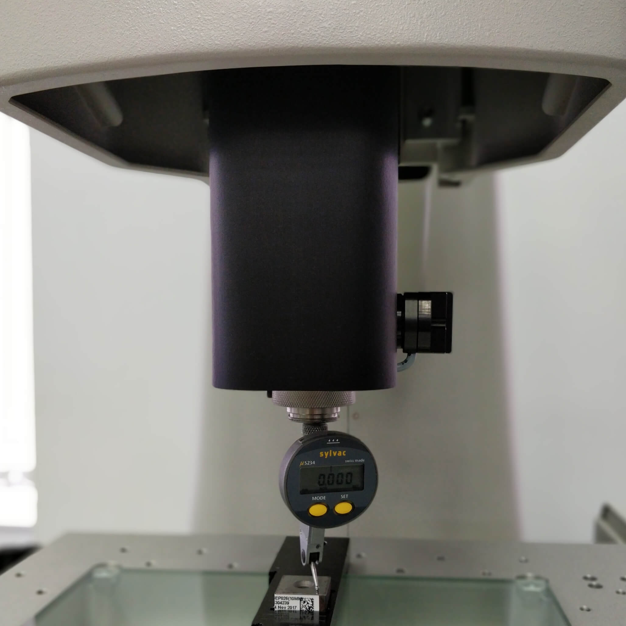 calibration of optical CMM vision system