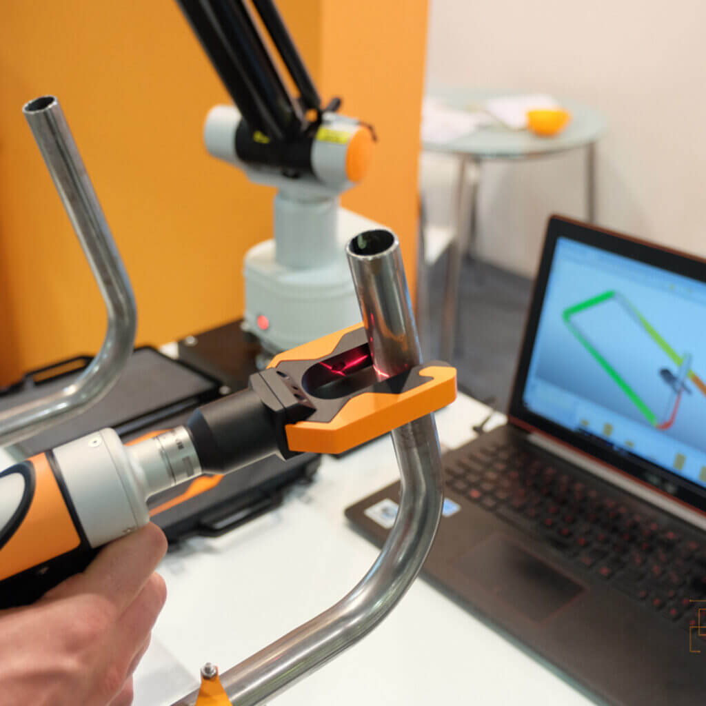 Evo Tube Measuring arm With Laser Fork