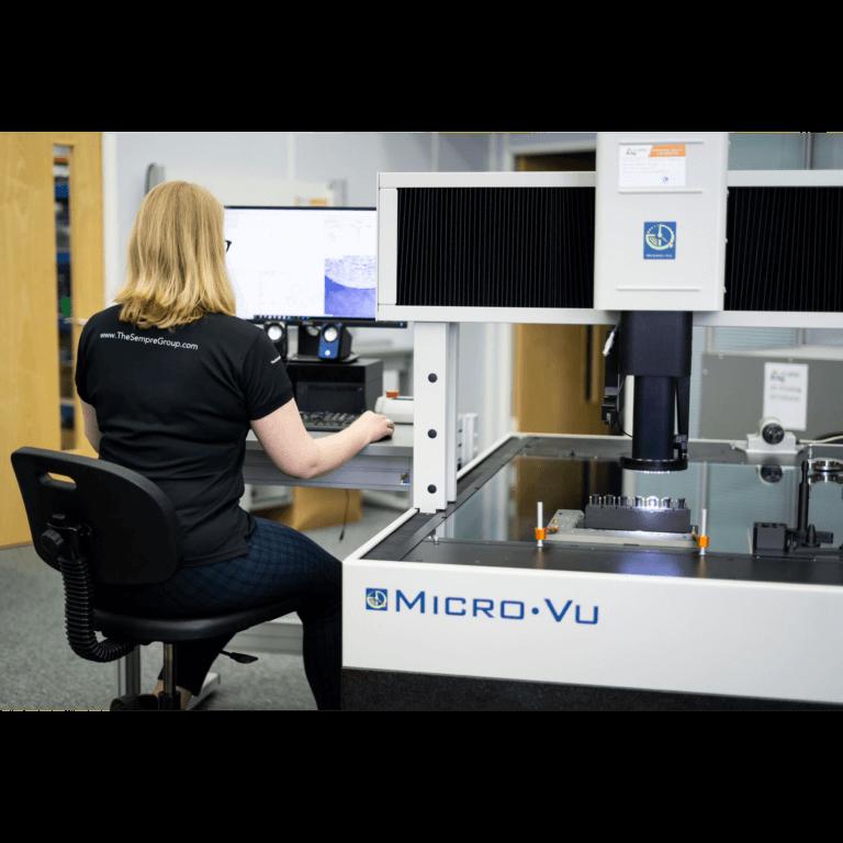 Micro Vu Excel Optical CMM