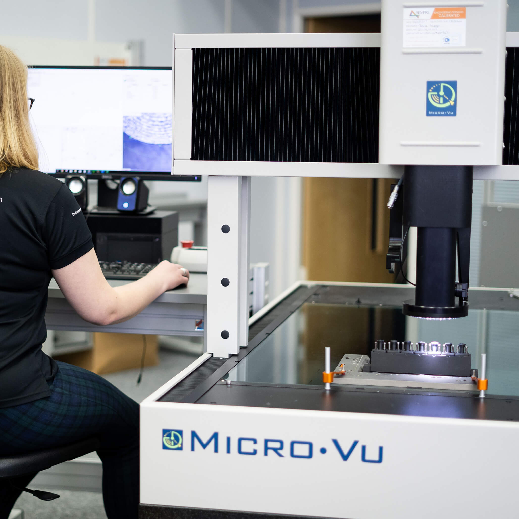Micro Vu Excel Optical CMM