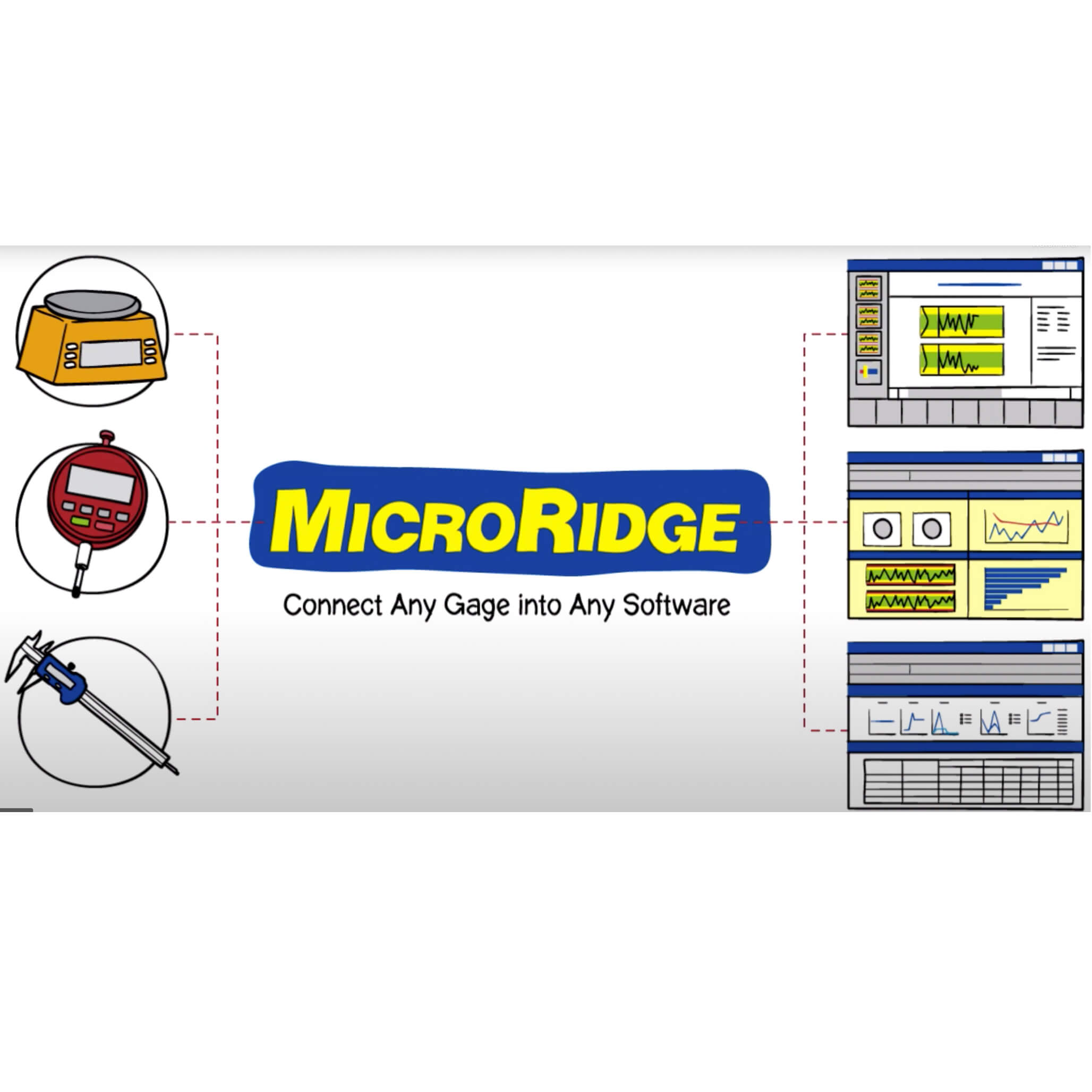 microridge linking gauges to any software