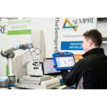 cobot robot fed optical cmm automated
