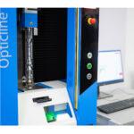 Optical shaft measurement