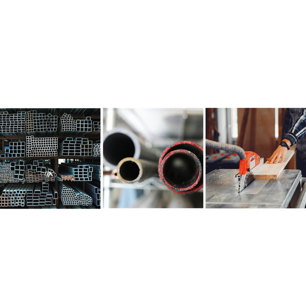 Measure Tubes, Bars & Extrusions