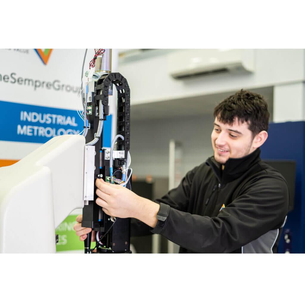 servicing optical CMM