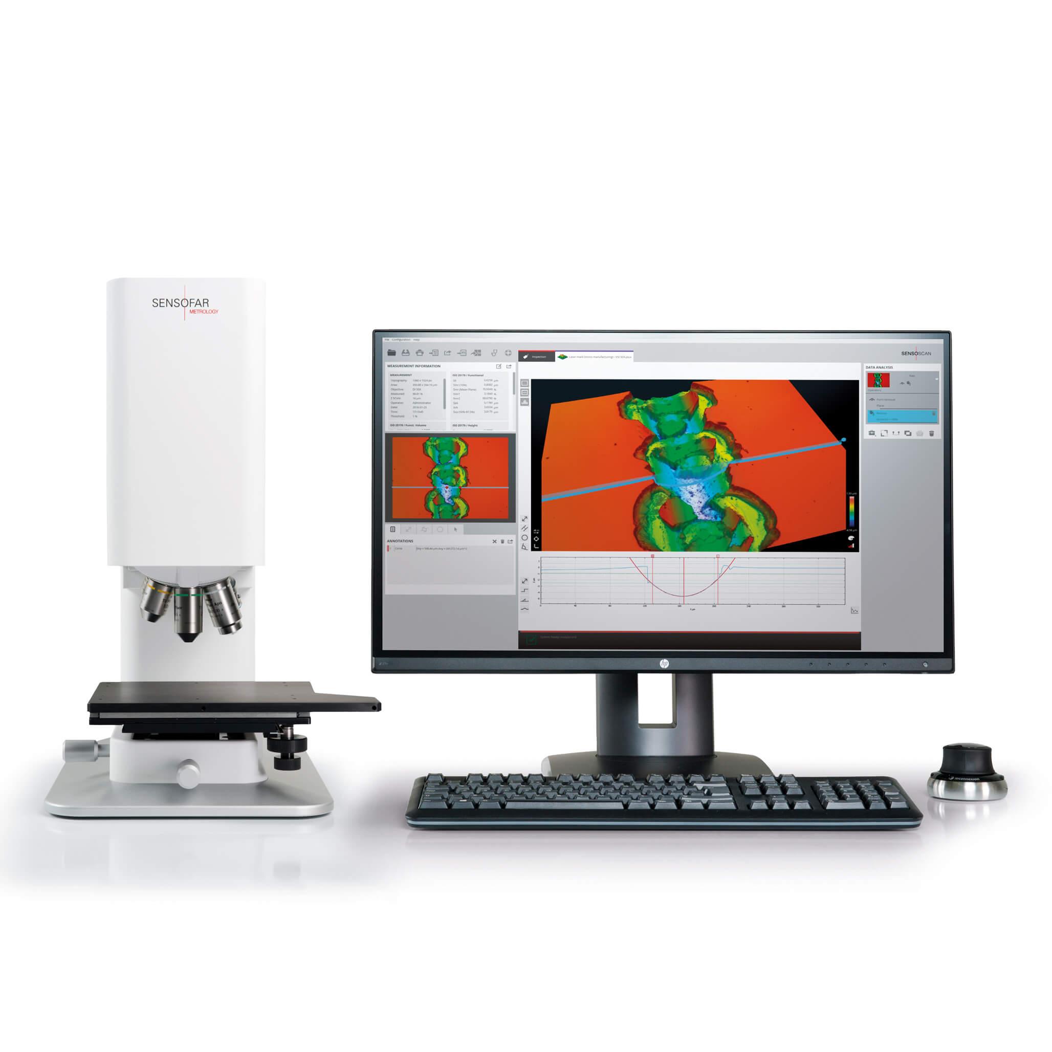 S Lynx Compact 3D Surface Profiler
