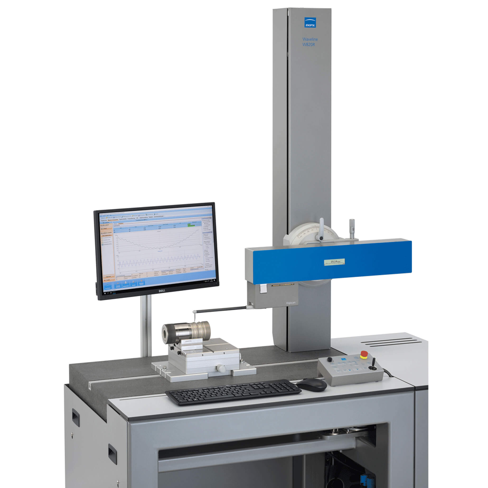 W800 roughness and contour measurement system