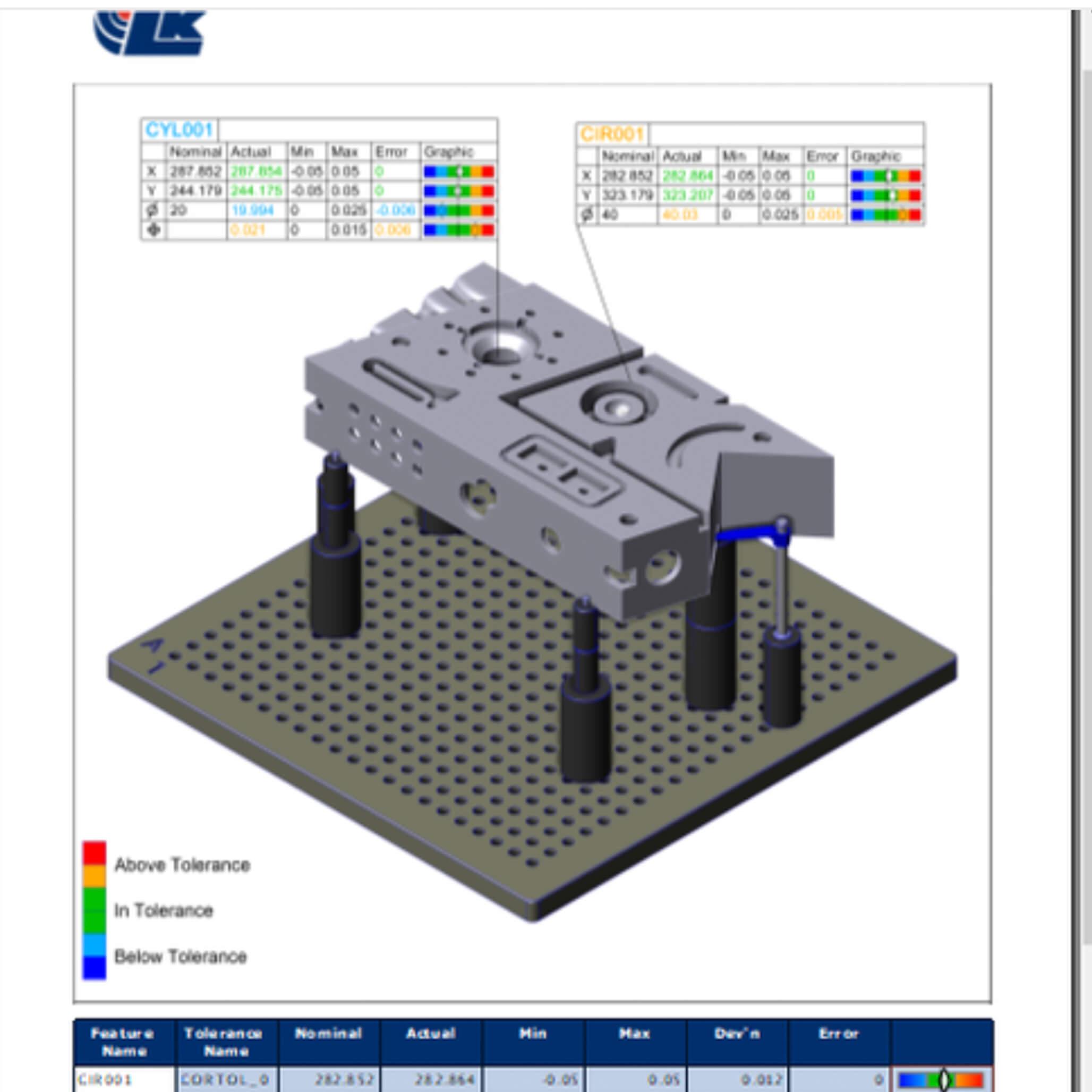 LK Camio 3D CMM software