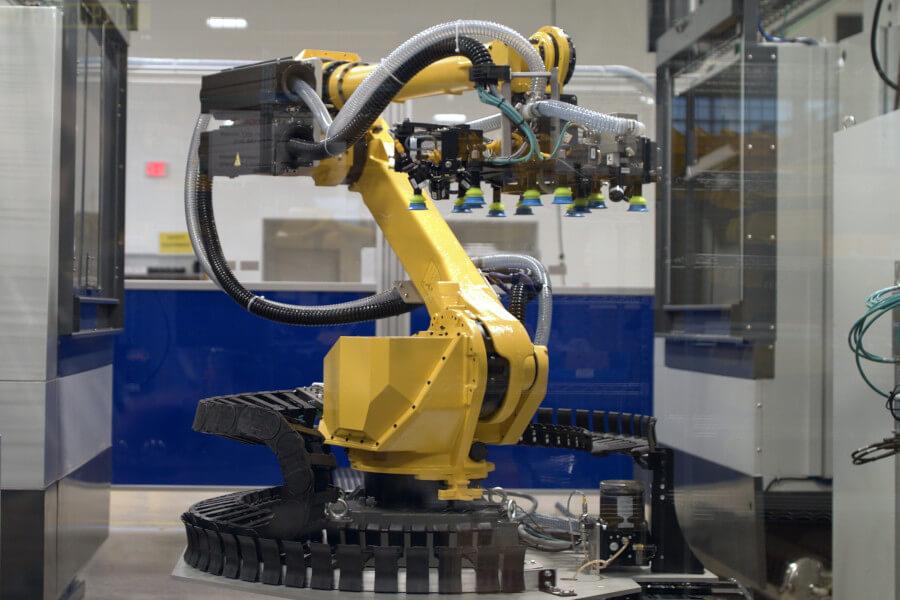 dwfritz 6 axis robot inspection