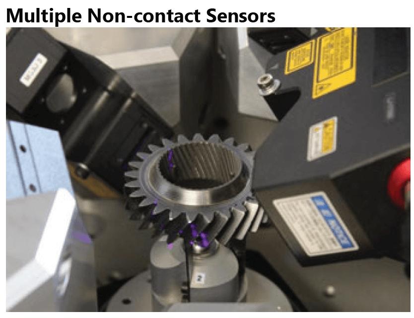 Automated Gear Measurement DWFritz ZTG